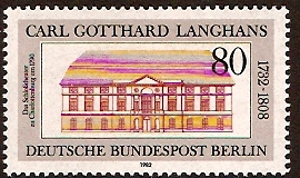West Berlin 1982 Carl Gotthard Commemoration. SGB646.