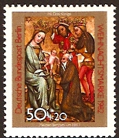West Berlin 1982 Christmas Stamp. SGB650.