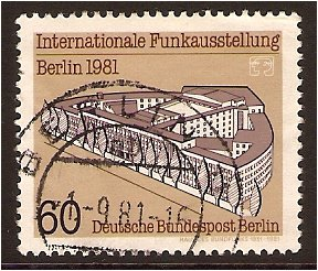 West Berlin 1981 60pf. Multicoloured. SG B621.