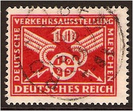 Germany 1925 10pf. Red. SG288.