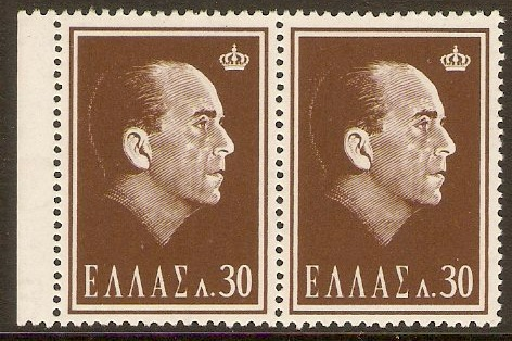 Greece 1964 30l Death of Paul I Series. SG937.