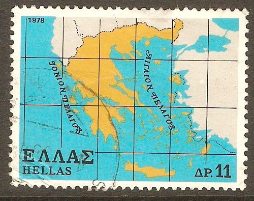 Greece 1978 11d Greek State series. SG1448.