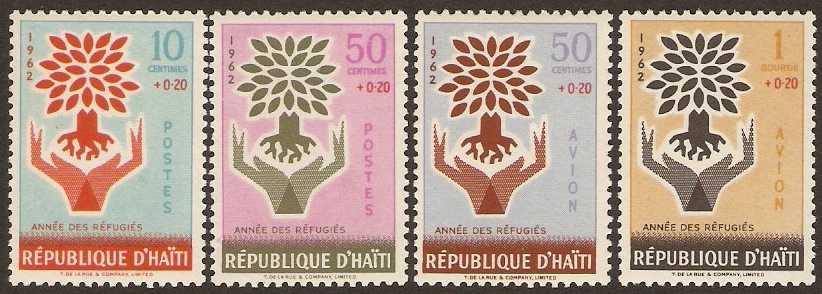 Haiti 1962 Refugee Set. SG827-SG830.