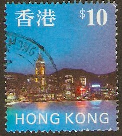 Hong Kong 1997 $10 Multicolured. SG861.