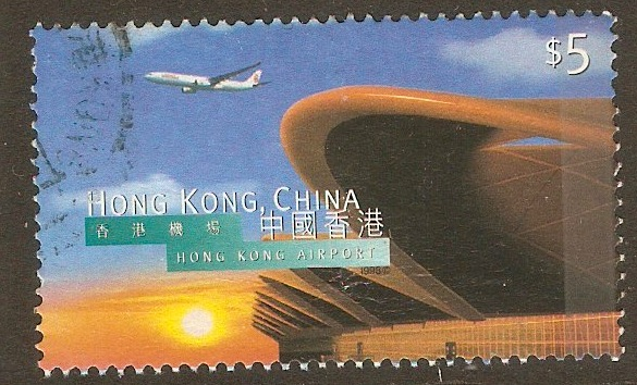 Hong Kong 1998 $5 Airport Inauguration series. SG929.