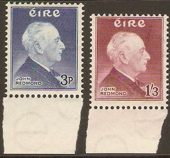 Ireland 1957 John Redmond Commemoration. SG164-SG165.