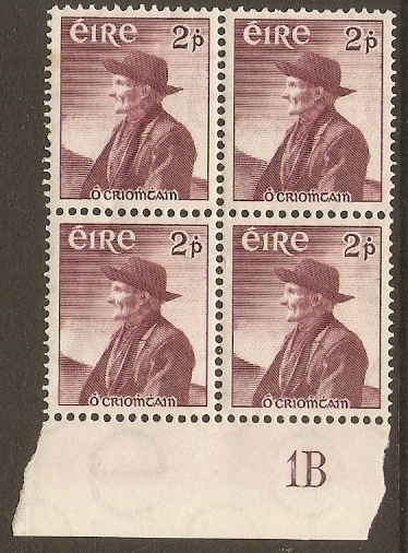Ireland 1967 2p Thomas O'Crohan series. SG166.
