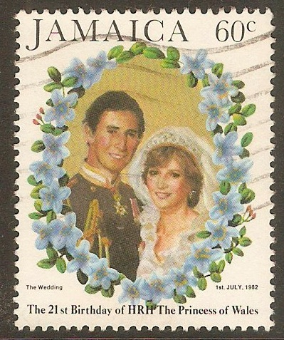Jamaica 1982 60c Royal Wedding series. SG553.