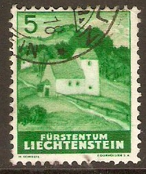Liechtenstein 1937 5r Views series. SG155.