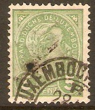 Luxembourg 1895 5c Green. SG155.