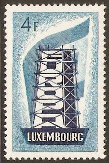 Luxembourg 1956 4f Europa Stamp. SG611.