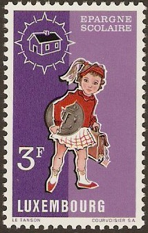 Luxembourg 1971 Savings Campaign Stamp. SG879.