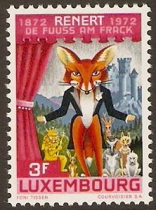 Luxembourg 1972 Poem Publication Anniversary Stamp. SG896.