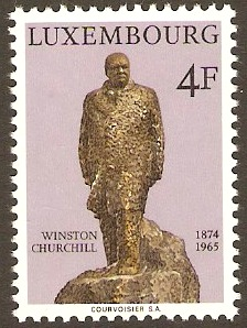 Luxembourg 1974 Churchill Commemoration. SG928.
