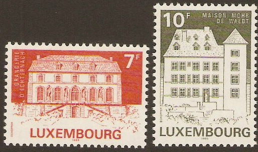 Luxembourg 1985 Monuments Set-3rd. Series. SG1165-SG1166.