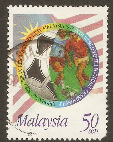 Malaysia 1997 50s Youth Football Championship series. SG650.