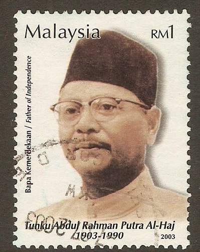 Malaysia 2003 1r First Prime Minister series. SG1127.