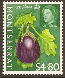 Montserrat 1965 $4.80 Fruits and Vegetables Series. SG176.