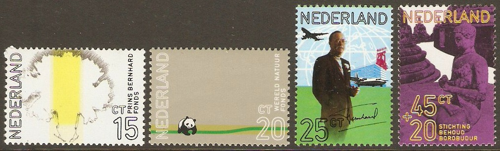 Netherlands 1971 Prince Bernhard's Birthday Set. SG1133-SG1136.