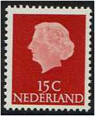 Netherlands 1953 10c. Lake-Brown. SG775.