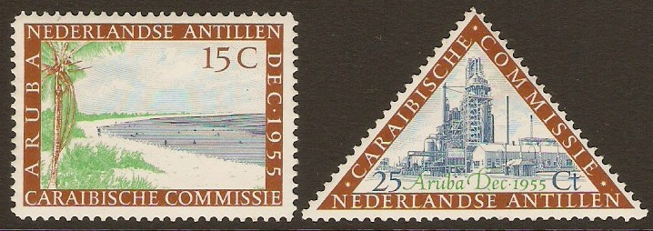 Netherlands Antilles 1955 Caribbean Commission Meeting. SG352-SG