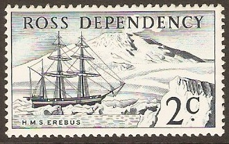 Ross Dependency 1967 2c Indigo. SG5.