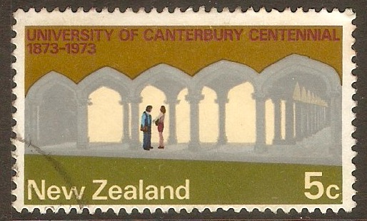 New Zealand 1973 5c Commemorations series. SG999.