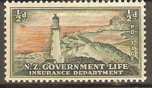 New Zealand 1947 ½d Life Insurance Stamp. SGL42.