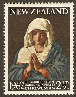 New Zealand 1962 2½d Christmas Stamp. SG814.