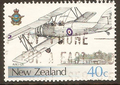 New Zealand 1987 40c Airforce Anniversary series. SG1423.