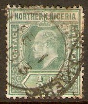 Northern Nigeria 1910 ½d Green. SG28.