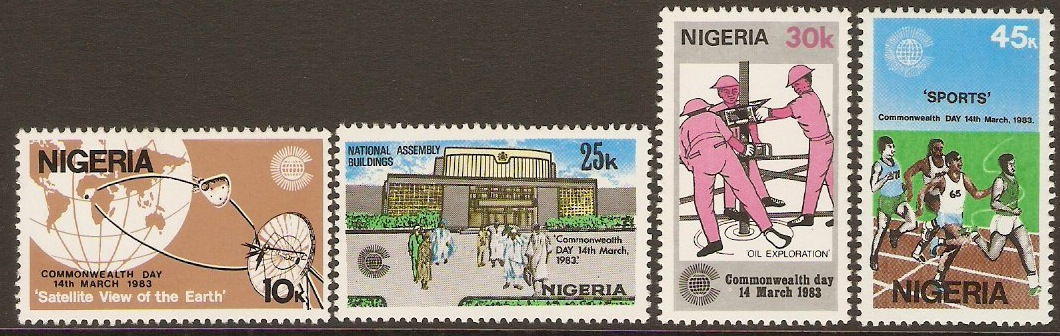 Nigeria 1983 Commonwealth Day Set. SG448-SG451.
