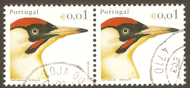 Portugal 2003 1c Birds (2nd. Series). SG2988.