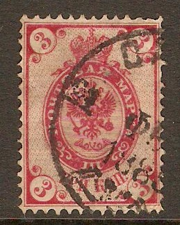 Russia 1883 3k Red. SG41A.