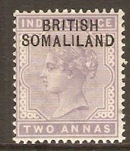 Somaliland Protectorate 1903 2a Pale violet. SG3.