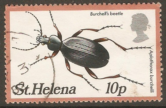St Helena 1981 10p Insects 1st. series. SG390.