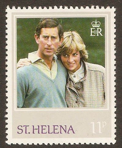 St Helena 1982 11p Princess of Wales series. SG388.
