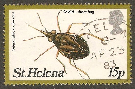 St Helena 1983 15p Insects 2nd. series. SG412.