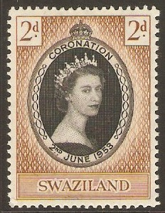 Swaziland 1953 Coronation Stamp. SG52.