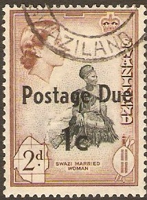 Swaziland 1961 2c on 2d. SGD8.