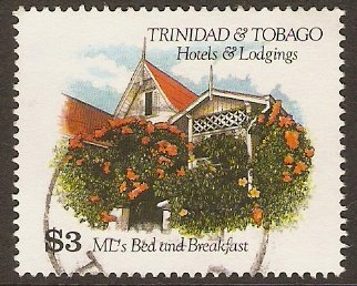 Trinidad & Tobago 1994 $3 Hotels & Lodgings Series. SG851.