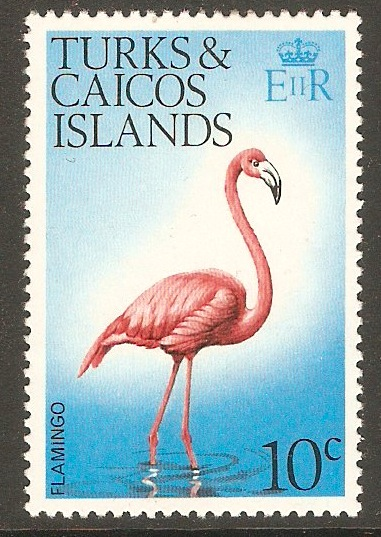 Turks and Caicos 1973 10c Birds Series. SG389.