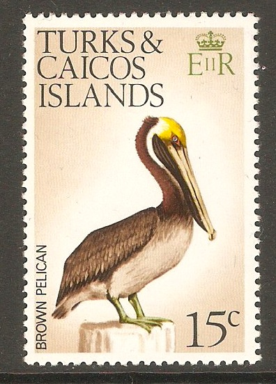 Turks and Caicos 1973 15c Birds Series. SG389.
