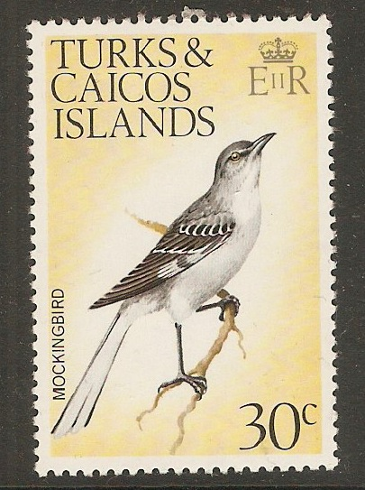 Turks and Caicos 1973 30c Birds Series. SG392.