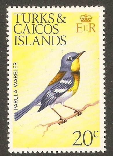 Turks and Caicos 1973 20c Birds Series. SG459.