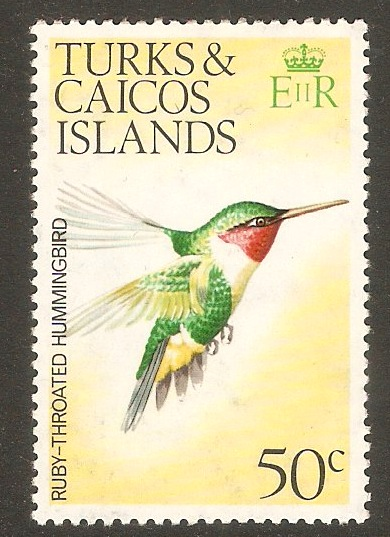Turks and Caicos 1973 50c Birds Series. SG461.