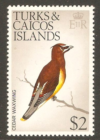 Turks and Caicos 1973 $2 Birds Series. SG463.