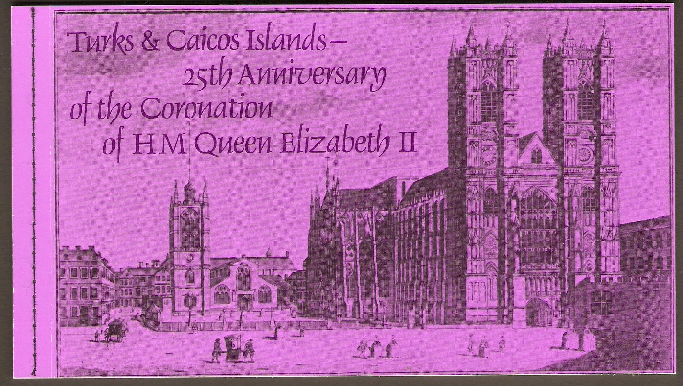 Turks and Caicos 1978 Coronation Anniversary Booklet.